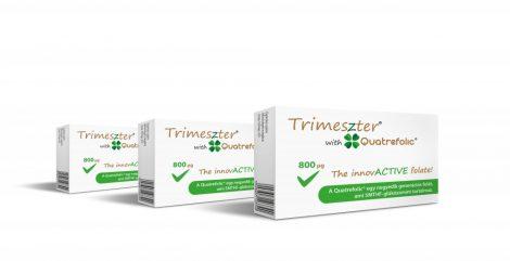 Trimeszter with Quatrefolic 3 db-os termékcsomag, ingyenes kiszállítással